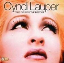 True Colors: Best of Cyndi Lauper by Cyndi Lauper (CD, Oct-2012, 2 Discs, Sony Music)