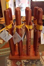 Flute Handcrafted Cedar key of G 11 inches long by Vance Morrili from Utah USA!!