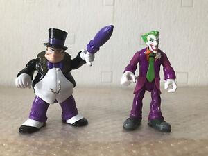 2009/2010 Mattel DC Comics Figures Joker & Penguin