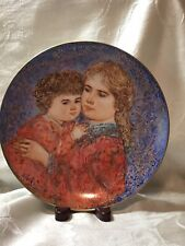 Edna Hibel Mothers Day Plate for 1985 by Knowles - No Original Box