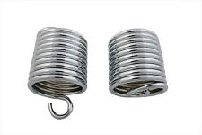 Auxiliary Seat Chrome Spring Set For Harley-Davidson