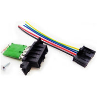 Heater Blower Resistor + Wiring Loom For Citroen Fiat Peugeot Vauxhall Alfa