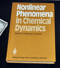 Signed! Both Authors! NONLINEAR PHENOMENA IN CHEMICAL DYNAMICS 1981 1st Ed HC