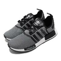 adidas Originals NMD_R1 BOOST Black White Men Women Unisex Shoes Sneakers FV5438