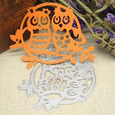 Owl Metal DIY Cutting Dies Stencil Scrapbook Album Paper Card Embossing Craft