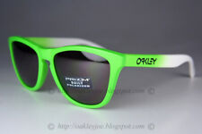 Oakley Frogskins POLARIZED Sunglasses OO9013-99 Green Fade W/ Prizm Daily Lens