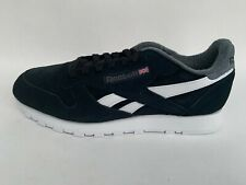 Reebok Classic Leather  Running Lifestyle Sneakers Trainers  Shoes Black Size 11