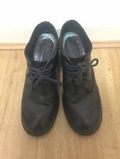 Avant Garde Goth Ninja Marsell Black Lace Up Mid Heel Shoes Size 38