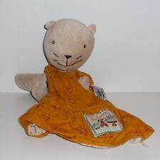 Doudou Chat Moulin Roty - Collection la grande Famille