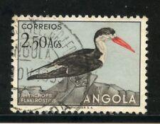 1951 - ANGOLA - 2,50 Ag. UCCELLI - USATO - LOTTO/29010