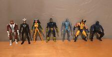 Marvel Legends Jim Lee X-Men Lot Wolverine Cyclops Beast Angel Havok Rogue