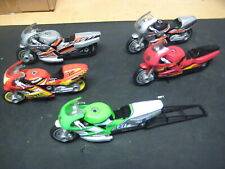 Lot Of 12 Hot Wheels 1:18 Racing Motorcycle Lot  5 Custom Shop Mechanix