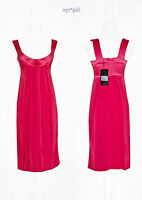 Plein Sud MADE IN ITALY Net-a-Porter Coral Empire Waist Cocktail Dress 2 36 XS