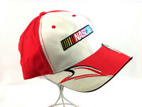 The Winners Circle Cap NASCAR Hat Hook and Loop Snap Back Flame Design Trucker