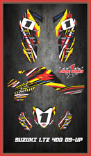 Suzuki LTZ 400 09 and newer ATV sticker kit Semi Custom Service FAAST2