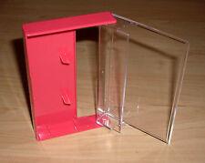 10 Kassettenhüllen Leerhüllen Cassetten MCs Hüllen rosa pink Box Kassetten Neu