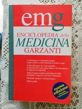 ENCICLOPEDIA DELLA MEDICINA GARZANTI 1998 EMG fisiologia anatomia esami farmaci