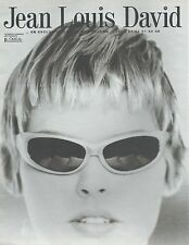 ▬► PUBLICITE ADVERTISING AD JEAN LOUIS DAVID Cheveux 1997