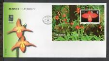 JERSEY FDC - 2004 Orchids