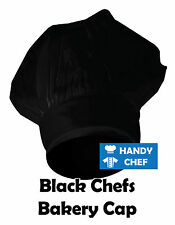 Black Chef Cap /Black Chef Hat / Bakers Hat .., see handychef for chef jacket