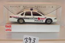 Busch 1/87 Nr. 47624 Chevrolet Caprice Polizei U.S. Police Rosemont OVP #393