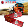 UK 2*12v Led Rear Tail Lights Lamp 6 Function Trailer Caravan Truck Lorry 36