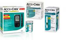 Accu-Chek Active Glucose Monitor with 60 Strips Glucomete Glucometer Free Ship