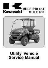 Kawasaki service manual 2005 MULE 610 4×4 & MULE 600