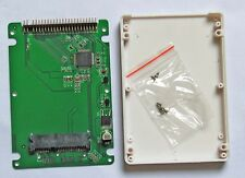 "2.5"" IDE 2.5"" PATA to 2.5"" half hight SATA SSD adapter card with case"