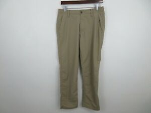 Under Armour Golf Pants Athletic Beige Khaki Stretch Mens Size 32x30