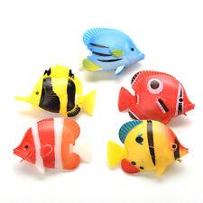 2PCS Artificial Tropical Fish Floating Moveable Aquarium Fish Tank  Toy LACA