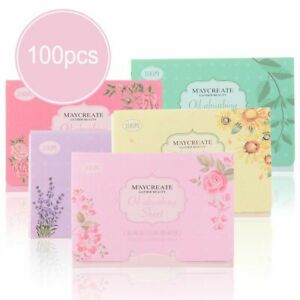 Accessories Face Oil Control Absorbent Paper Blotting Sheets Facial Clean