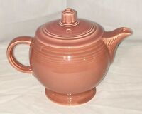 Vintage FIESTA *ORIGINAL ROSE * MEDIUM TEAPOT w/LID* MINT*