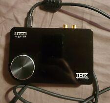 Creative labs Sound Blaster X-FI surround 5.1 Pro USB 2.0 Sound Card THX SB1095