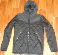 G-Star Raw Authentic Men's Attacc Quilted Hooded Jacket Black size S....NWOT