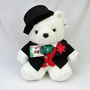 Santa Bear 2000 Groom Dayton Hudson Christmas collection top hat and tails