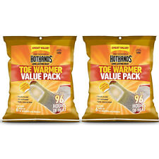 2 Pack HotHands Adhesive Toe Warmer 6 pair per pack  Value Pack