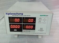 Power Factor & Power Meter 5mA-20A Harmonic Distortion Analyzer RS232 PF9811