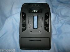OEM Audi S7 S6 RS7 A7 A6 Quattro Overhead Lamp Assembly Control Panel BLACK