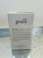 Philosophy Pure Grace Eau de toilette  Spray JUMBO 4.0 oz. SEALED Perfume