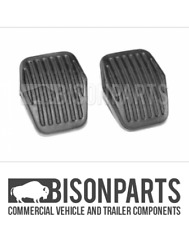 *FORD FOCUS C-MAX 2003-2014 CLUTCH & BRAKE PEDAL PAD RUBBER COVERS BP127-505 x2
