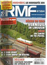 RMF N°584 RESEAU : VERNEUIL EN LIMOUSIN / CENTRE TRI POSTAL / X 2100 ET X 5500