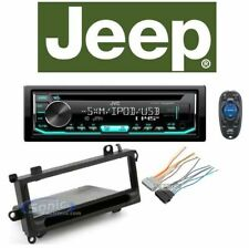 JVC Car Stereo/Receiver/CD Player Factory Replacement For 1997-02 JEEP WRANGLER