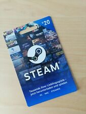 20 EURO Steam Wallet Card Code