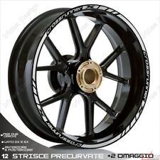 Trims Stickers Sport Wheel Wheel Stickers Honda VFR 800 x Crossrunner Argent