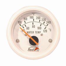 "Redline 2"" 52mm Boat Marine Electric Water Temperature Gauge with Sender MA-12"