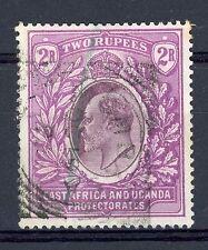 EAST AFRICA K.U.T. 1904-7 2R Dull & Bright Purple SG 27 Used Crayon Mark (AR382)