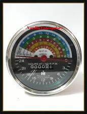 Farmall IH 300 350 utility gas tractor hour meter tachometer 363829R91