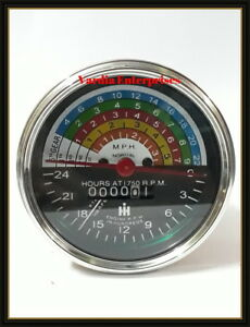 Farmall IH tractor tachometer 300 & 350 Tractor Hour meter