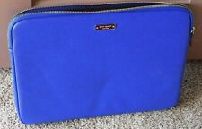 Kate Spade Royal Blue Computer Zippered Padded Laptop Case Bag Accessories NWOT